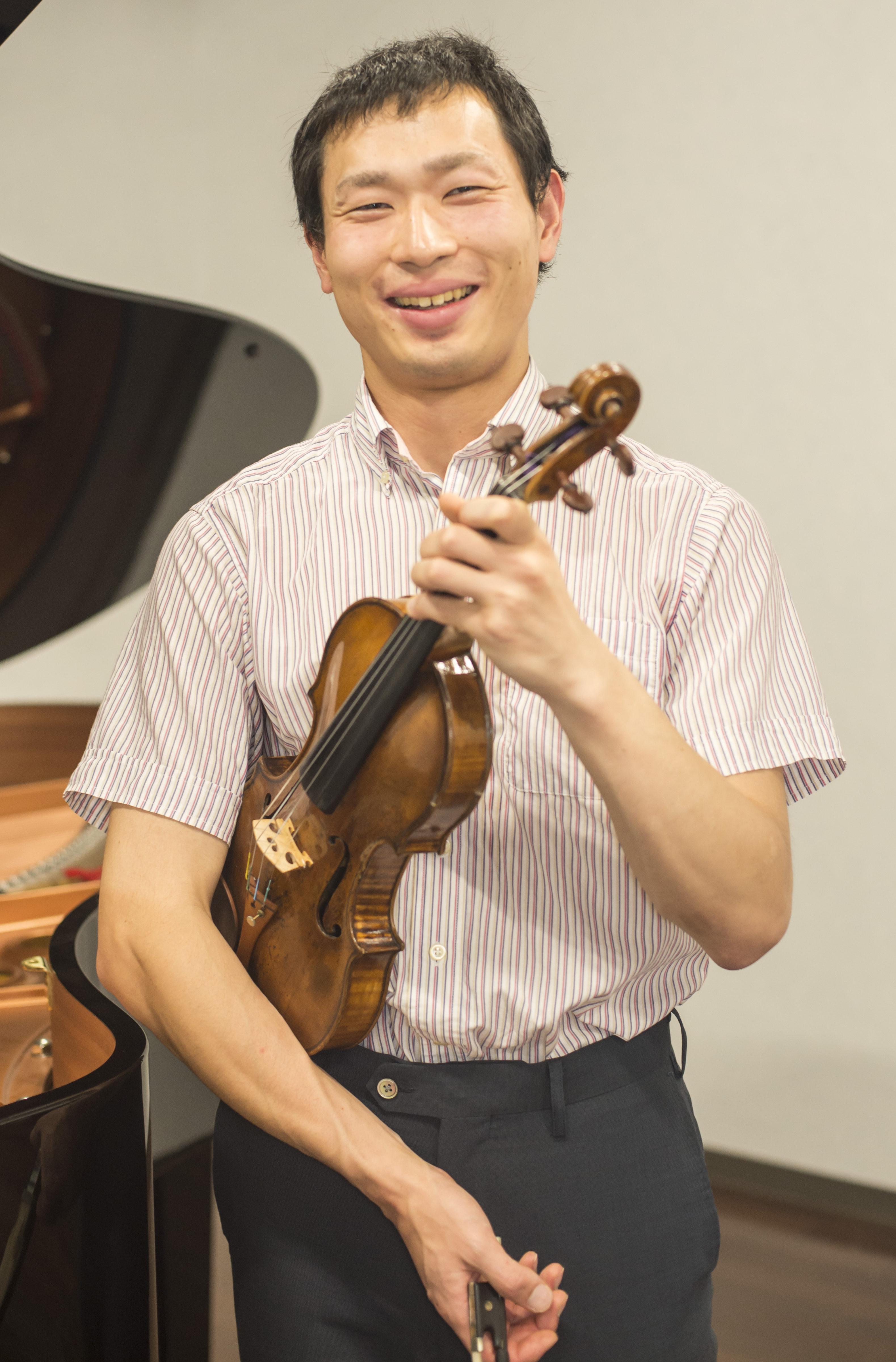 柳下 克久 先生の写真