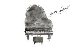ジャズピアノコースレッスン風景